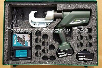 Greenlee Gator Ek1240l Battery Hydraulic Crimper U Die Ek1240 Crimping Tool New