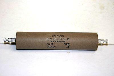 Sprague Koolohm 100000 - 50w Power Resistor