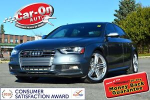 2013 Audi S4 3.0T V6 SUPERCHARGED 333 HP LEATHER SUNROOF LOADED