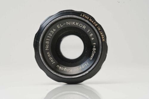Nippon Kogaku EL Nikkor 80mm 5.6 Enlarging Lens N5704