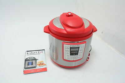 Instant Pot Lux 6-in-1 Electric Pressure Cooker 6 Quart 12 One-Touch Programs