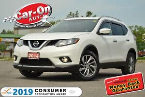 2014 Nissan Rogue SL AWD LEATHER NAV PANO ROOF HTD SEATS LOADED