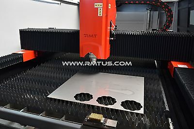 NEW NEW RMT - KYSON FIBER LASER 5' X 10'  DUAL TABLES 4 KW