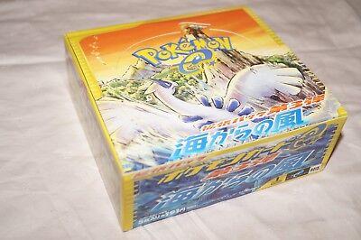 Pokemon Display - Aquapolis - 1. Edition - Ohne Booster - Leer - JAP - WIE NEU