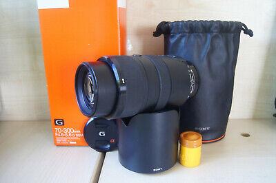 Sony G-Series 70-300mm F/4.5-5.6 AF SSM ED Lens - A Mount