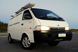 Kia Pregio Campervan fully equipped with Ikea mattress Sydney City Inner Sydney Preview