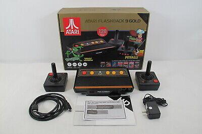 Atari Flashback 9 Gold Retro Game Console ATGames AR3650
