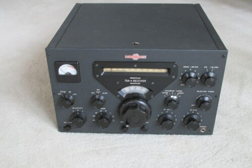 NICE LOOKING/WORKING COLLINS 75A4 RECEIVER W/2 FLTRS  KWM 32