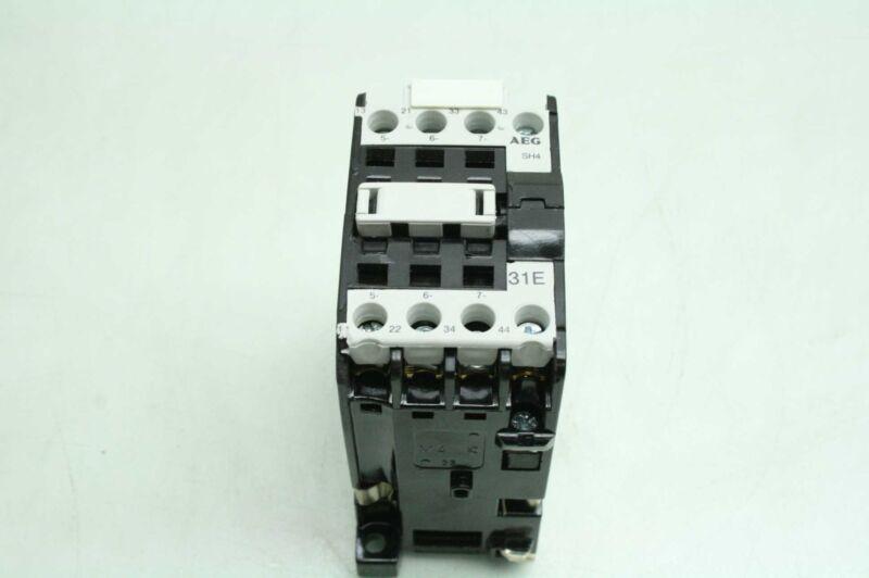 AEG 31E SH4 Four Pole Control Relay 24V DC Coil