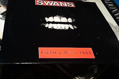 SWANS FILTH   LP # 1 1990 uk press ex VINYL LP
