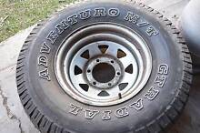 "Set 4 x 15"" Adventuro M/T GT Radial Tyres with Rims Tenambit Maitland Area Preview"