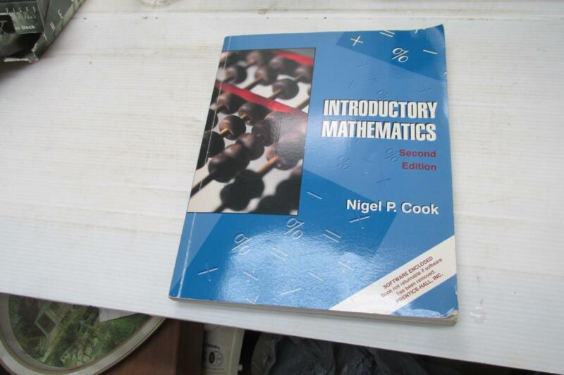 Introductory Mathematics by Nigel P. Cook (1997, CD-ROM / Paperback)
