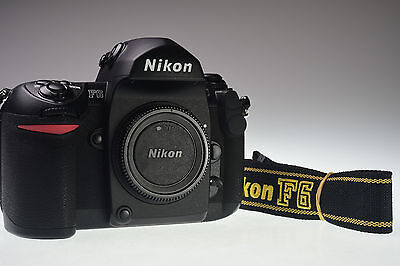 NIKON F6 35mm Film Camera Body Excellent+