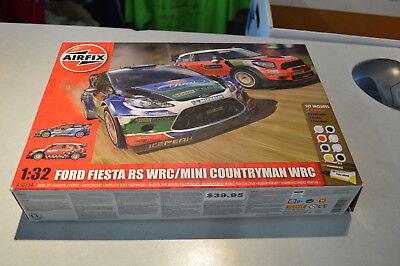 Ford Feista RS WRC Mini Countryman WRC 1:32 Model Kit AirFix Skill 2