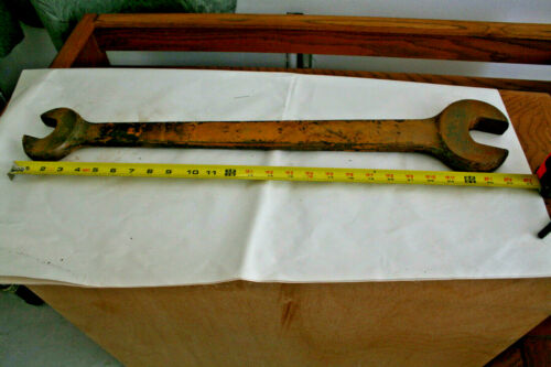 Vintage, Huge Bulldozer, Tractor, Farm Equipment, Super Heavy Duty, Open Wrench