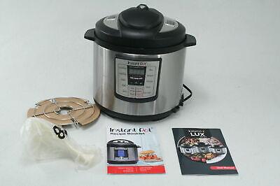Instant Pot IP-LUX60V3 Lux Electric Pressure Cooker Steamer Saute Warmer 6 Quart