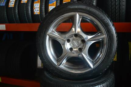 """4 SET MAG WHEELS 17"""" SPORT + GOOD CONDITION 5 STUDS Virginia Brisbane North East Preview"""