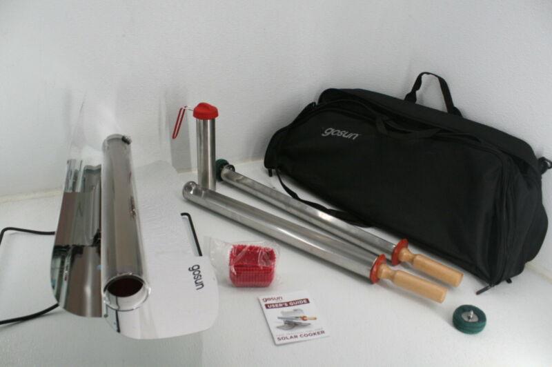 GOSUN Survival Gear Solar Oven Sun Cooker W Silicone Baking Cups & Thermos