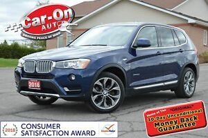 2016 BMW X3 xDrive28d DIESEL LEATHER NAV PANO ROOF REAR CAM