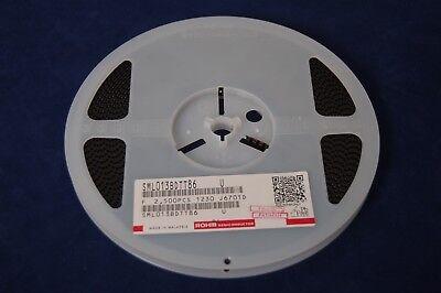 2500 Rohm Corp Blue 3520 Leds W Internal Reflector 20ma 2.1v. Sml013bdtt86