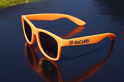 Bacardi Sonnenbrille in orange - Bacardi Razz Brille - Neon Partybrille ++++