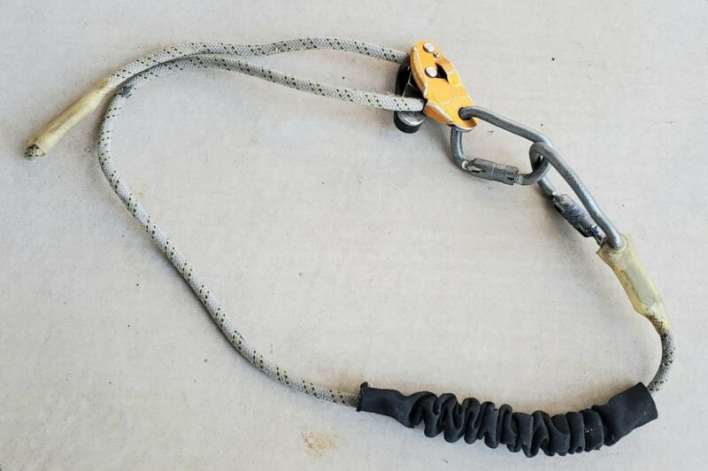 PETZL GRILLON LO52R POSITIONING LANYARD USED