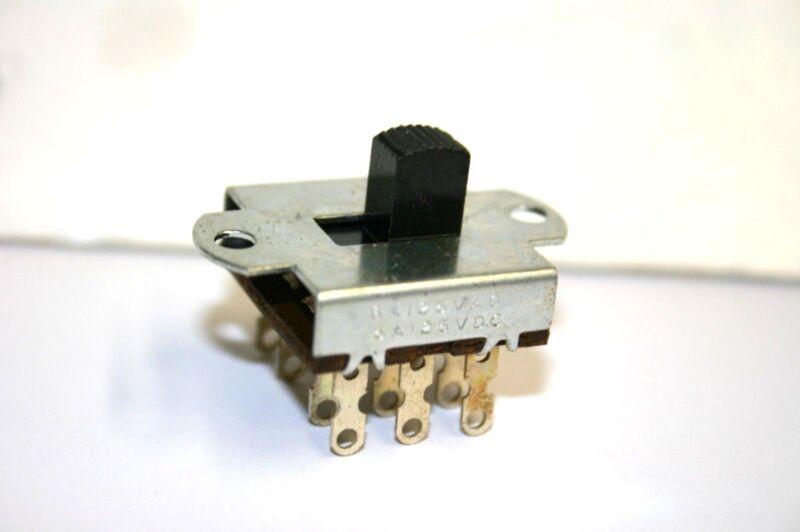 25 pcs. Slide Switch--4PDT--ON-ON--125VAC@6A