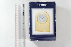 Brand NEW Seiko Clock QHG352GL - Free 2-3 Day Shipping