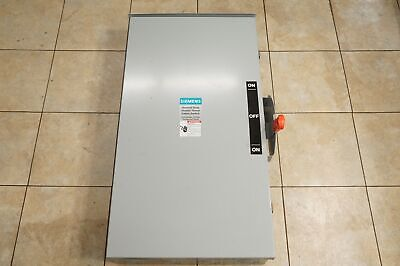 Dtnf224r Siemens Non-fusible Double Throw Safety Switch 2 Pole 200a Type 3r Nos