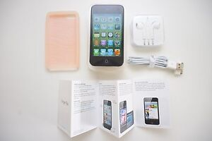 iPod Touch Black 4th Gen 8gb + BOX + case + NEW earphones + POST Melbourne CBD Melbourne City Preview