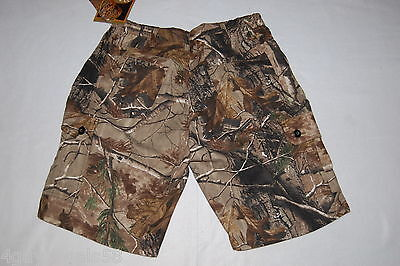 Leg Pockets Mens Shorts (Mens Shorts WALLS Ultra Lite CAMOUFLAGE Leg Pockets M)