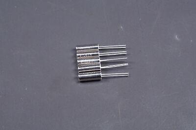 Lot Of 5 Ecs-200-18-9 Ecs Inc Crystal Oscillator 20mhz 50 Ohm 50ppm Thru Hole