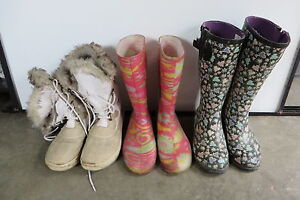 Rubber and Winter Boots