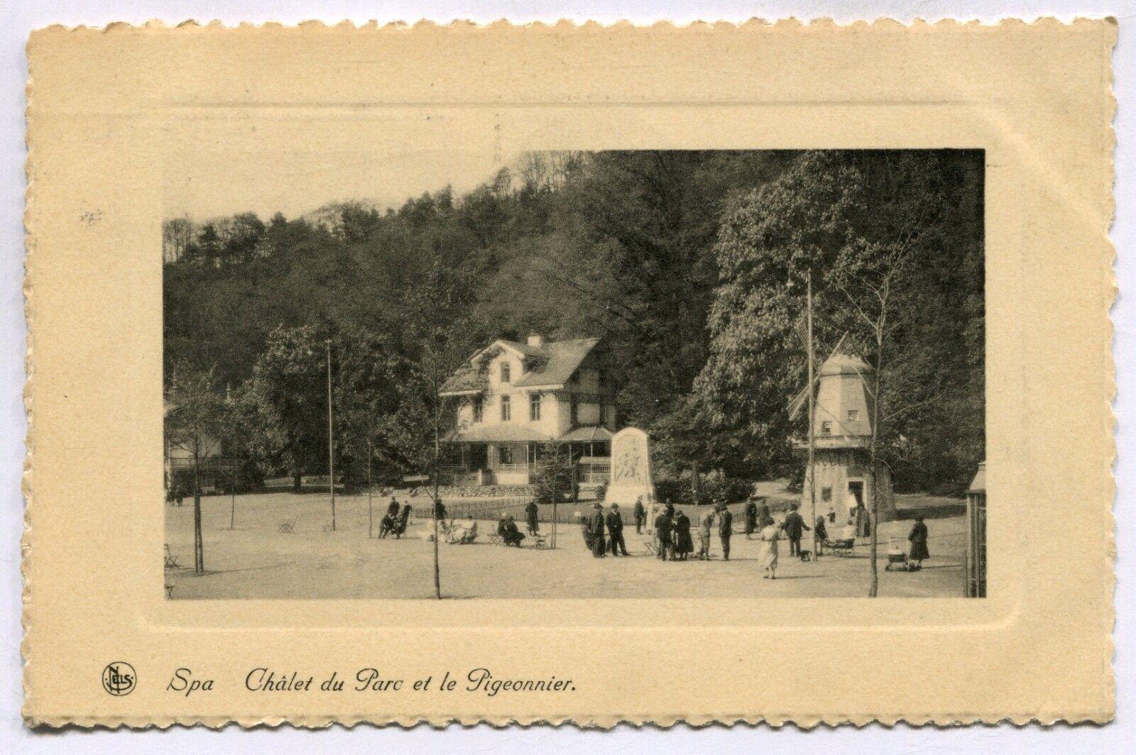CPA - Carte Postale - Belgique - Spa - Châlet du Parc et le Pigeonnier - 1937