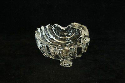 CAMBRIDGE GLASS CAPRICE CRYSTAL # 213 NUT DISH ASHTRAY OPEN SALT CELLAR Caprice Crystal