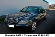 Mercedes-Benz MB S600 L Guard  Werkspanzer Security B7