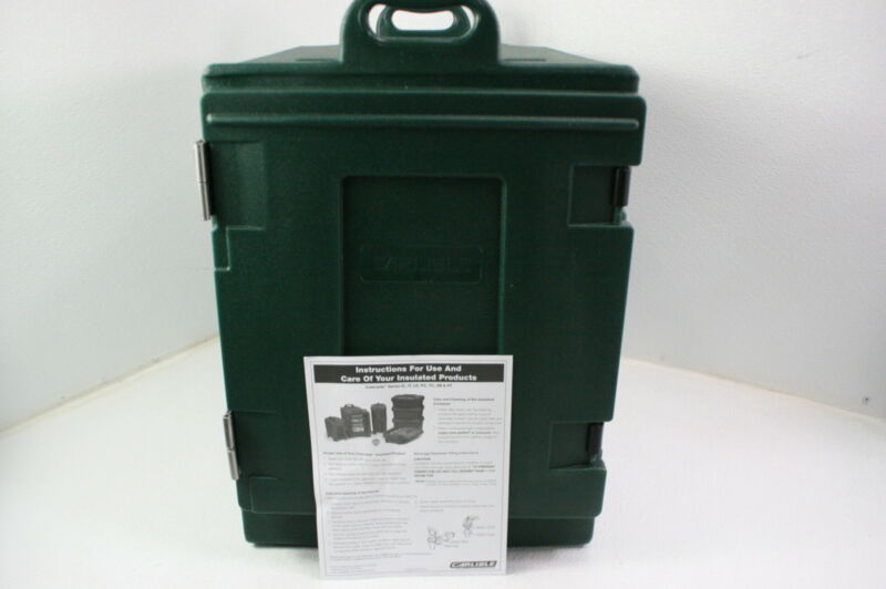 Carlisle PC300N08 Cateraide End Loading Insulated 5 Pan Food Carrier Green