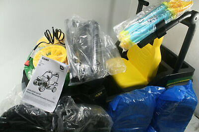 John Deere Battery Operated Gator Ride On Toys w Water Guns & MP3 Jack Green
