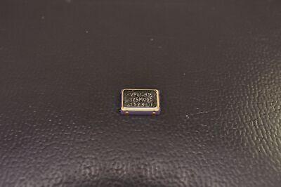 Vpc1-b1e-125m000000 Vectron Crystal Oscillator 125mhz 3.3v Smt 25ppm Nos
