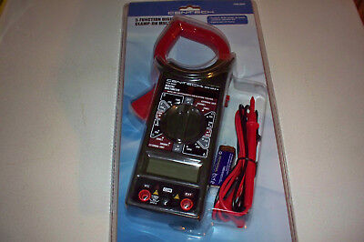 5 Function Digital Clamp-on Electrical Multimeter Electric Tester Lcd Display