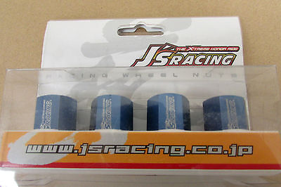 J's Racing Wheel Nuts Blue (Set Of 4) Honda AWN-BL ()