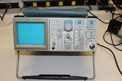 Tektronix 2710 9.0 Khz - 1.8 Ghz Spectrum Analyzer. Tested.