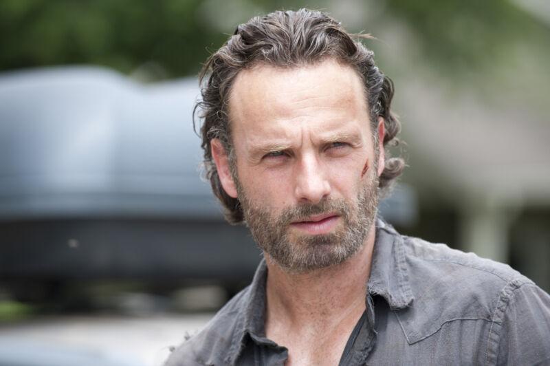 Rick Grimes. Credit Gene Page/AMC