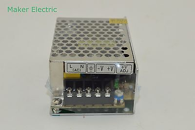 Mkele 35w 15v 2.4a Dc Regulated Switching Led Power Supply Ms-35-15