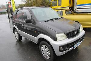 2002 Daihatsu Terios DX 4X4 Wagon Youngtown Launceston Area Preview