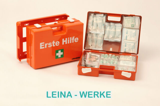Erste Hilfe Koffer DIN 13157 13169 Verbandkasten Sanitätskoffer Halterung  -2020