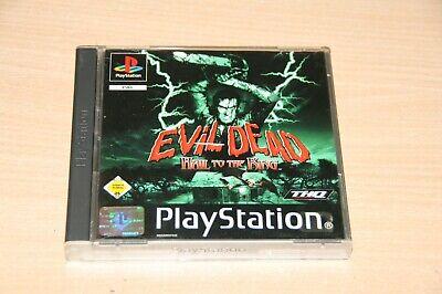 Evil Dead: Hail To The King (Sony PlayStation 1, 2001) Top USK 16, usado segunda mano  Embacar hacia Spain