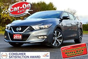 2018 Nissan Maxima LEATHER NAV REAR CAM HTD SEATS LOADED