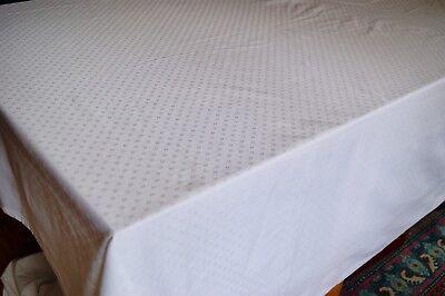 LE JACQUARD FRANCAIS Primrose Bordier Cotton Damask Tablecloth 96