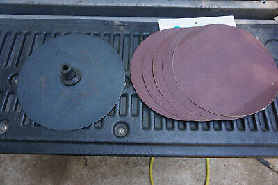 Shopsmith Mv 510520 Used Steel 12 Sanding Disc W Extra Pads